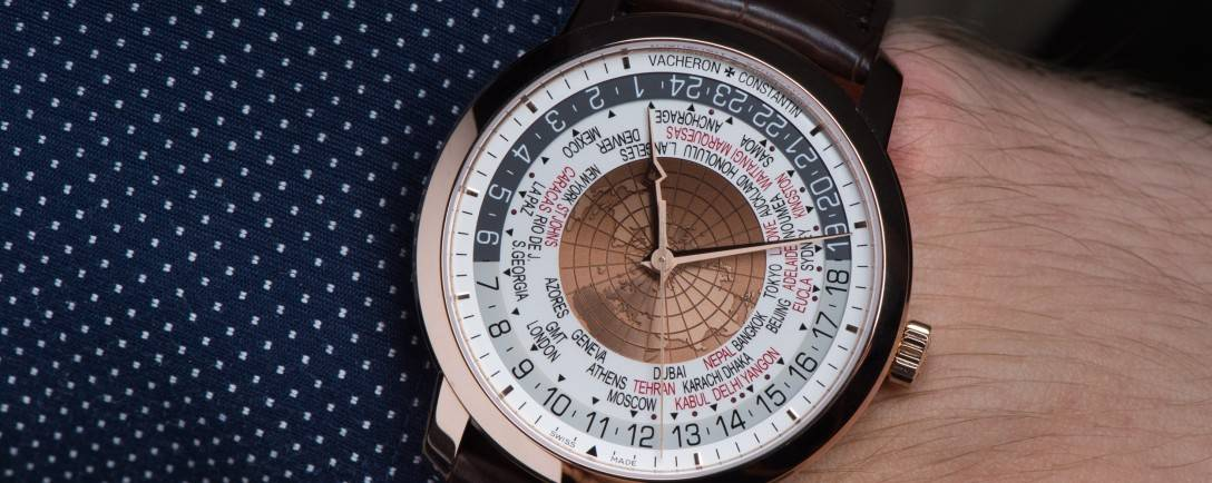 The Vacheron Constantin Traditionnelle World Time