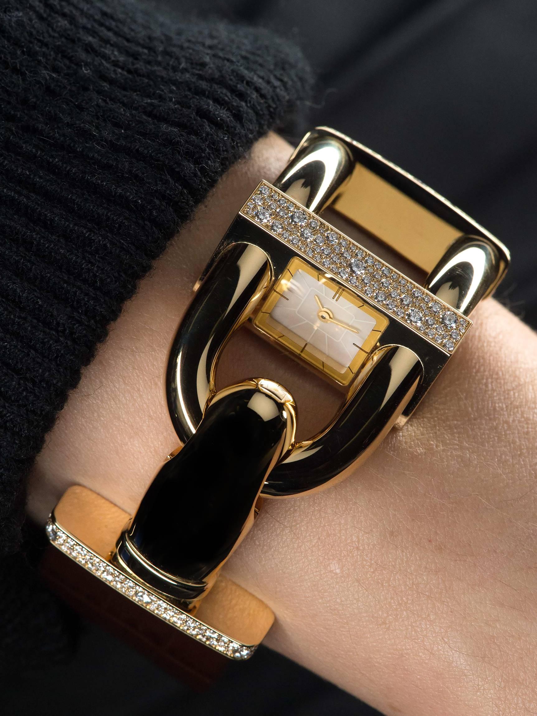 Van Cleef & Arpels Cadenas Ladies Watch 2015 Wrist