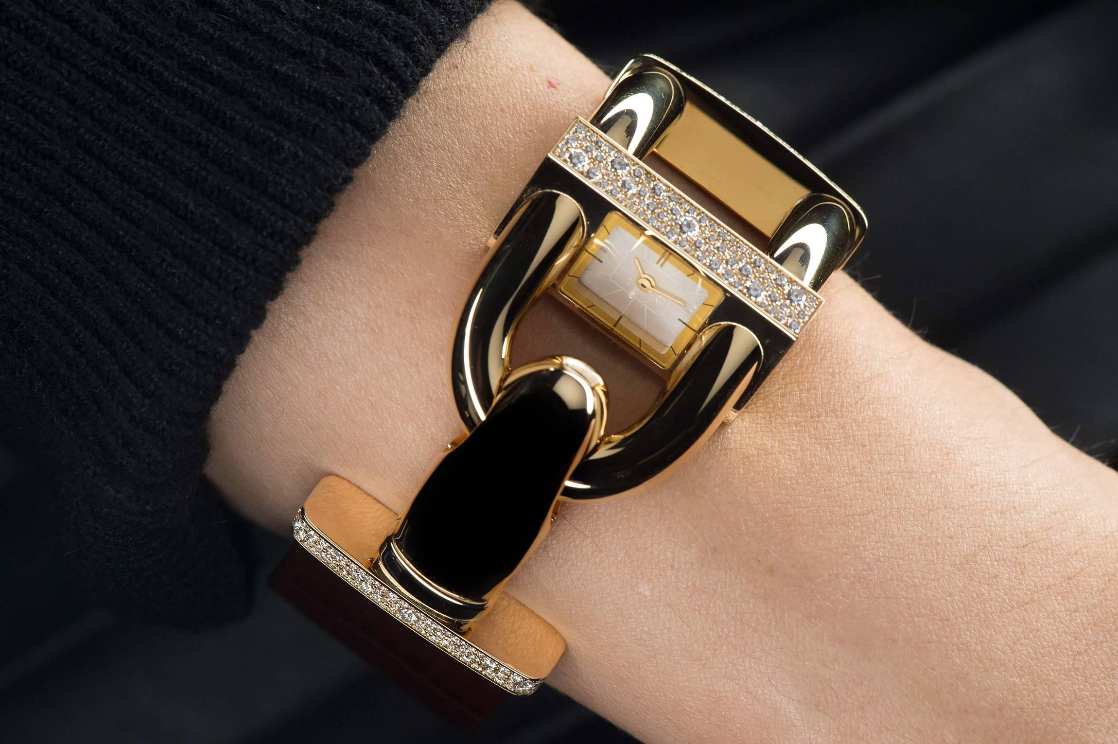 Van Cleef & Arpels Cadenas Ladies Watch 2015 Yellow Gold