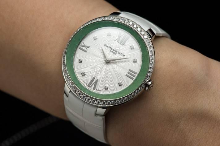 Baume & Mercier Promesse Jade ($11,400)