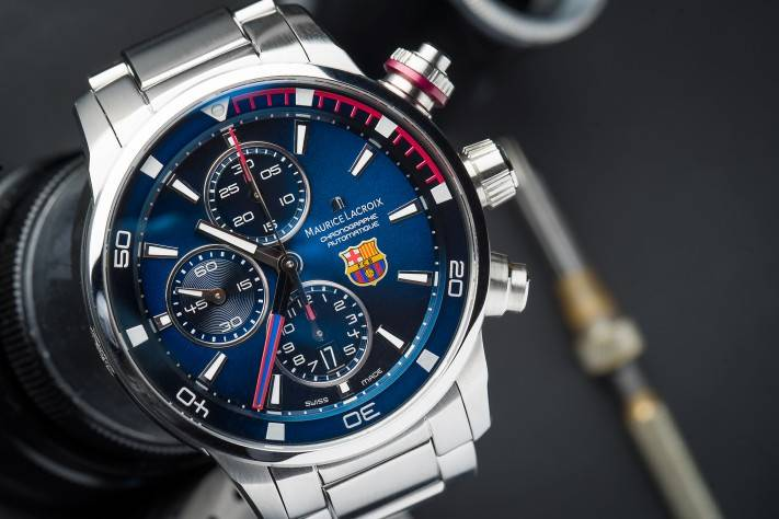 Hands On The Maurice Lacroix Pontos S FC Barcelona Official Watch