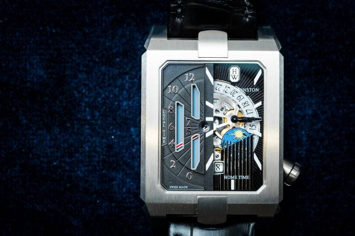 Harry Winston Avenue Dual Time Automatic Watch Review