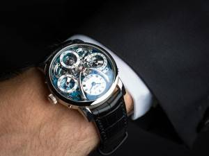MB&F LEGACY MACHINE PERPETUAL Watch 2015 Wrist 1