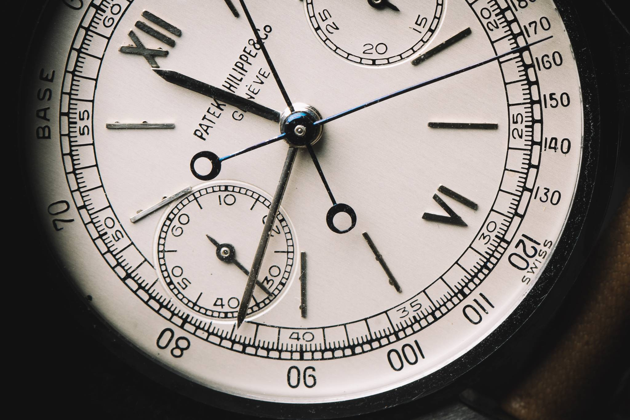 PATEK PHILIPPE 'Steel Split-Seconds', Reference 1436, Stainless Steel, 1945 Dial