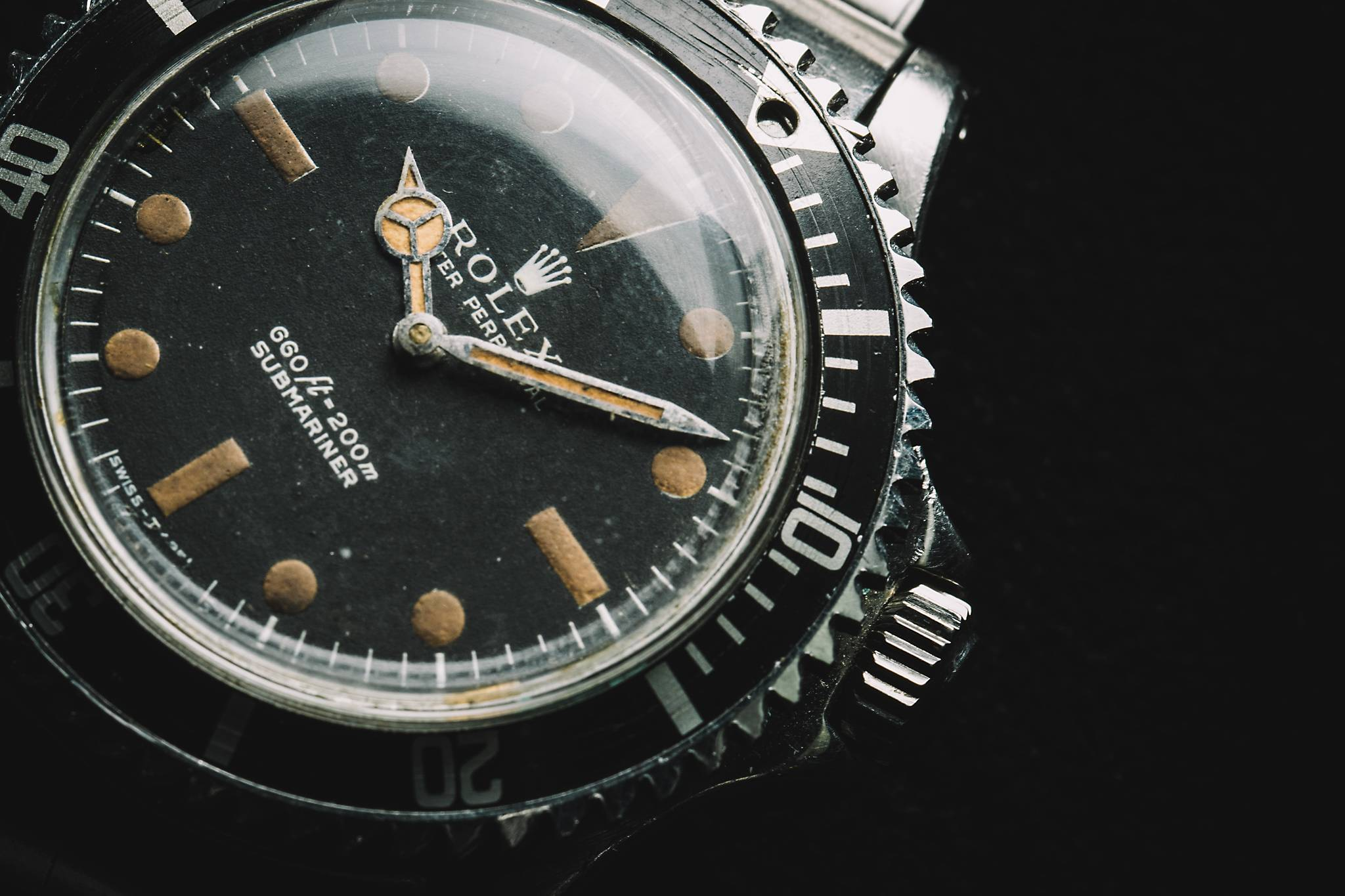 Rolex 'James Bond' Submariner from 'Live and Let Die', Reference 5513, Stainless Steel, 1972 Dial