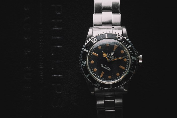 Rolex 'James Bond' Submariner from 'Live and Let Die', Reference 5513, Stainless Steel, 1972 Front
