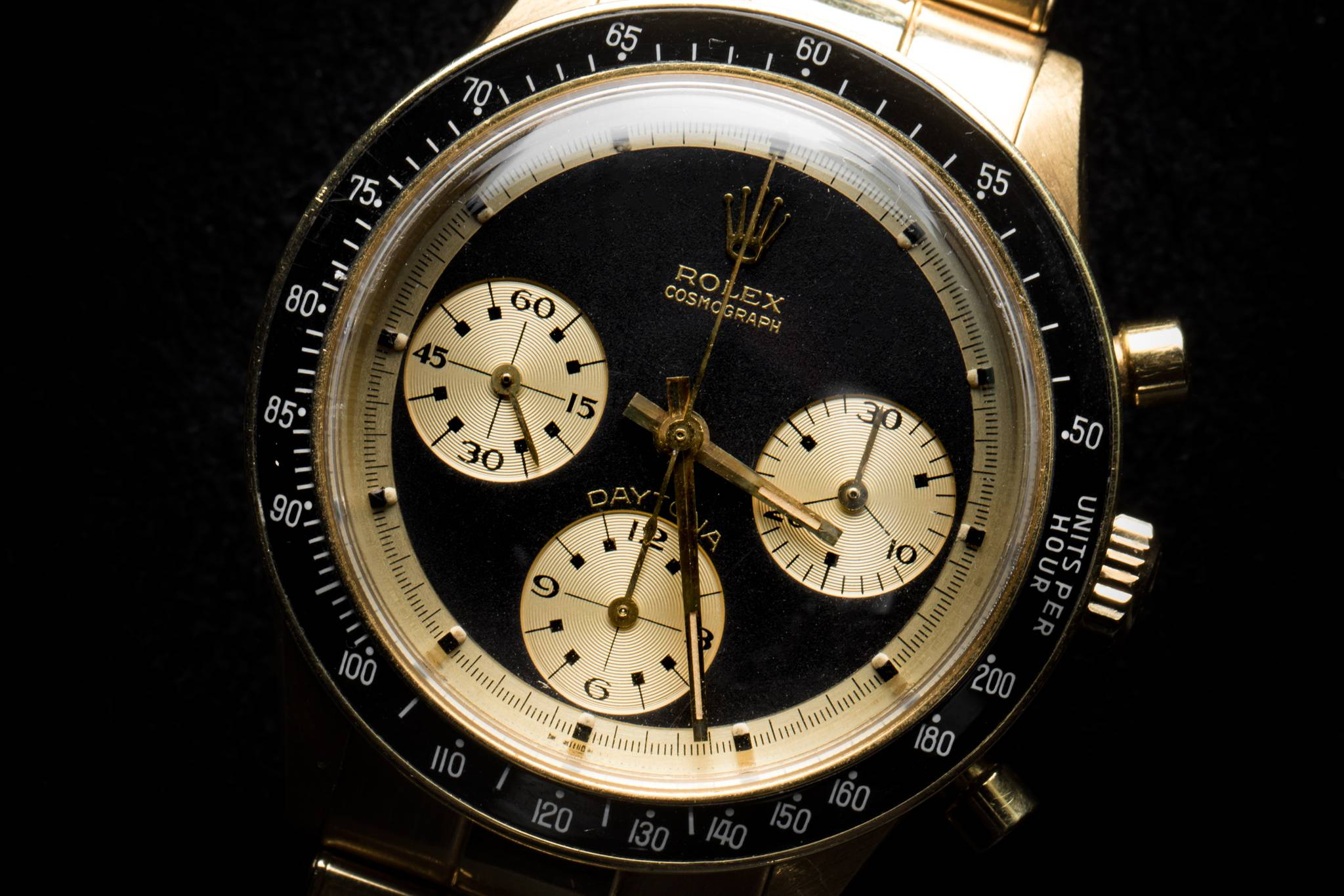 Rolex 'The Hermès Paul Newman', Reference 6241, Yellow Gold, 1968 Front