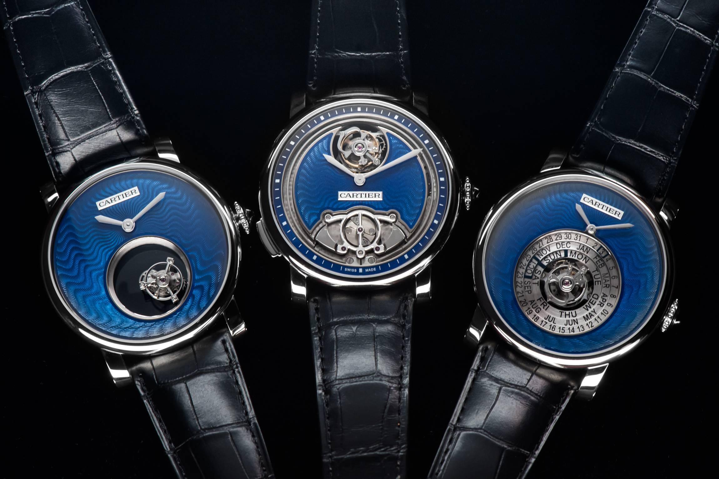 """Rotonde de Cartier """"Fine Watchmaking"""" Trilogy by Cartier Haute Time"""