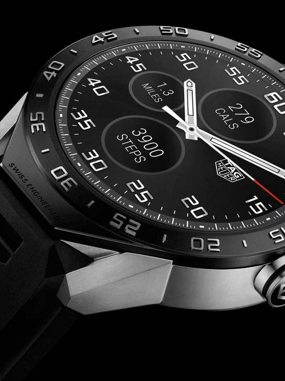 Introducing The TAG Heuer Connected, The First Swiss ...