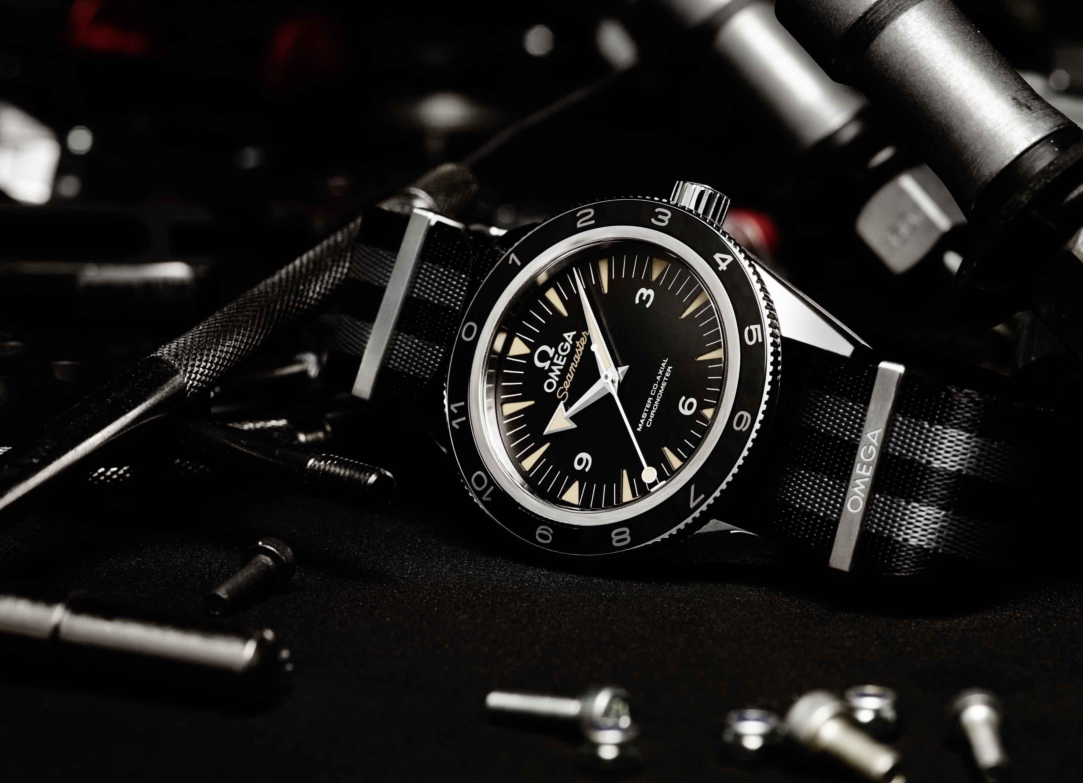 James Bond Omega Seamaster 300 Spectre Film