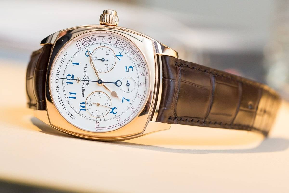 Vacheron Constantin Harmony with pulsometer dial