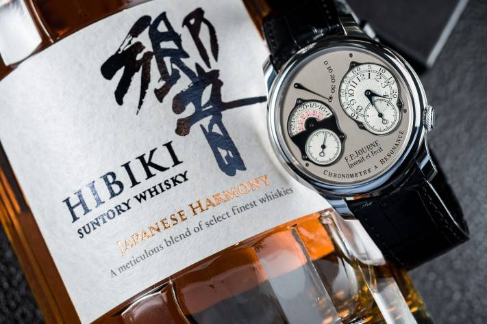 Watches And Whisky F.P. Journe Chronomètre À Résonance and Hibiki Japanese Harmony