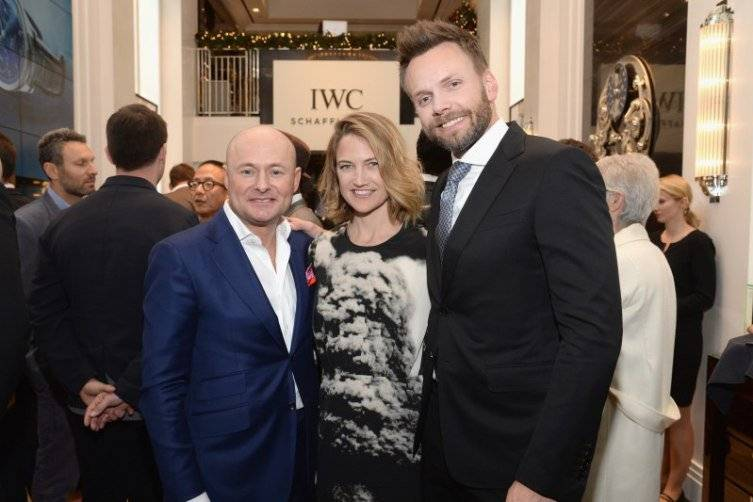 IWC Boutique Opening Rodeo Drive