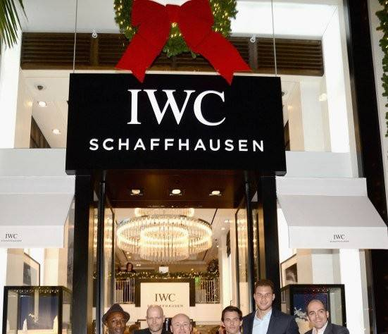 IWC Boutique Opening Rodeo Drive 7