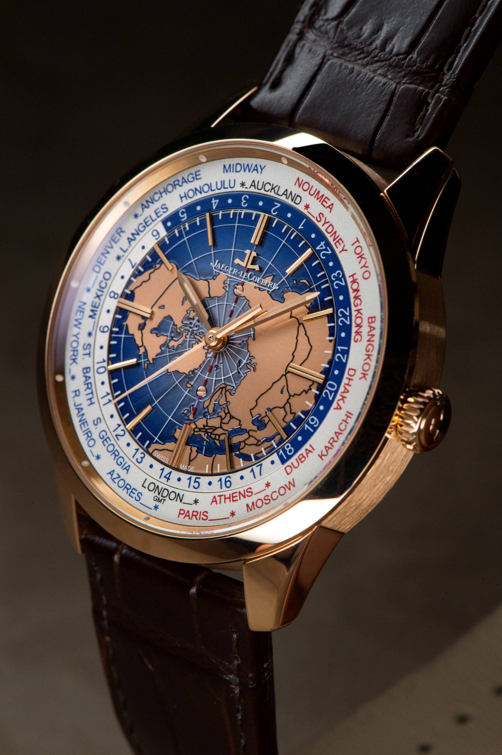 Jaeger-LeCoultre Geophysic Universal Time Side