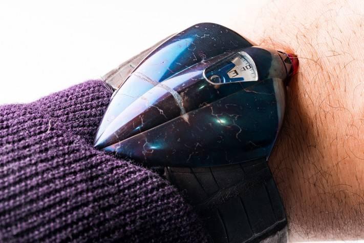 De Bethune Dream Machine 5 Meteorite Wrist