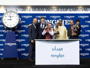 Longines presents the first set of Dubai World Cup Carnival races at the Meydan Racecourse