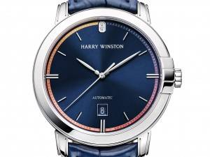 Harry Winston Unveils Countdown To A Cure Timepiece