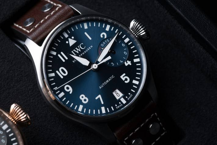 "IWC Big Pilot's Watch ""Top Gun"" Ceramic Reference 1W502003"