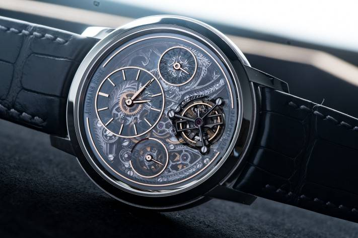The Jules Audemars Tourbillon Openworked 41mm