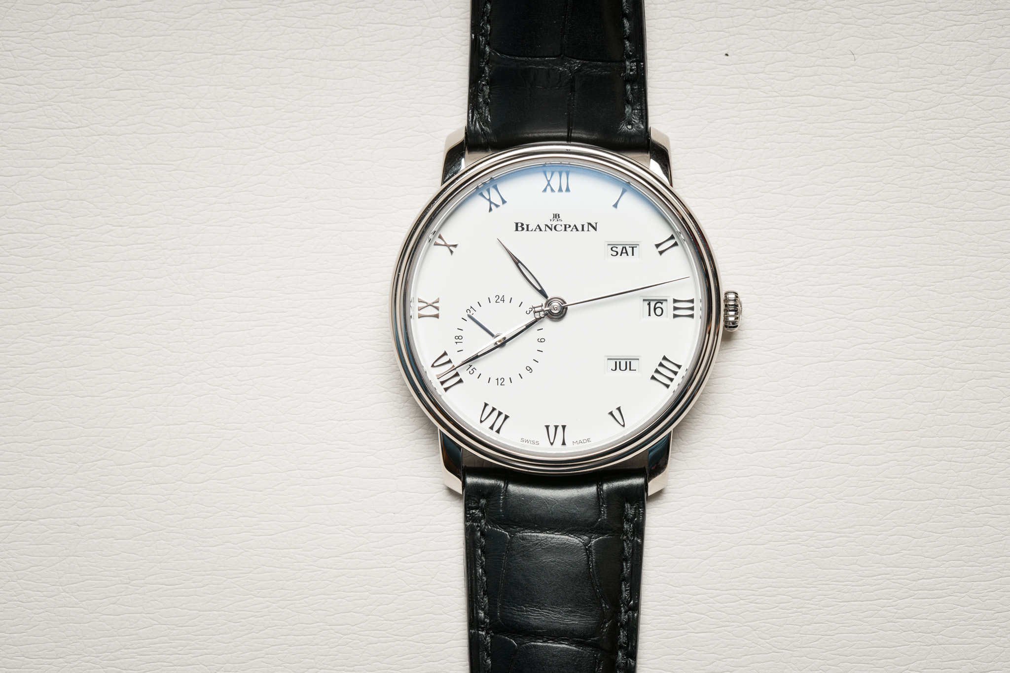 Annual Calendar Blancpain GMT from the Villeret collection