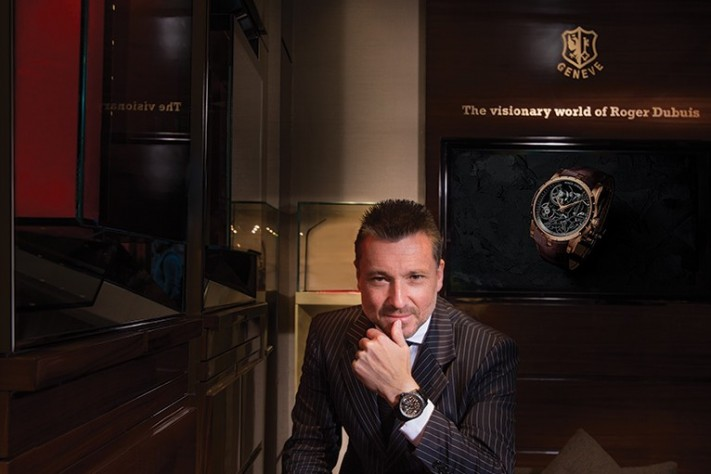 One on One: Roger Dubuis CEO Jean-Marc Pontroue Shares His Secrets of Success