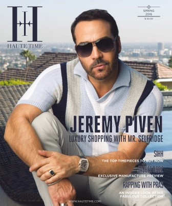 Jeremy Piven Haute Time Cover