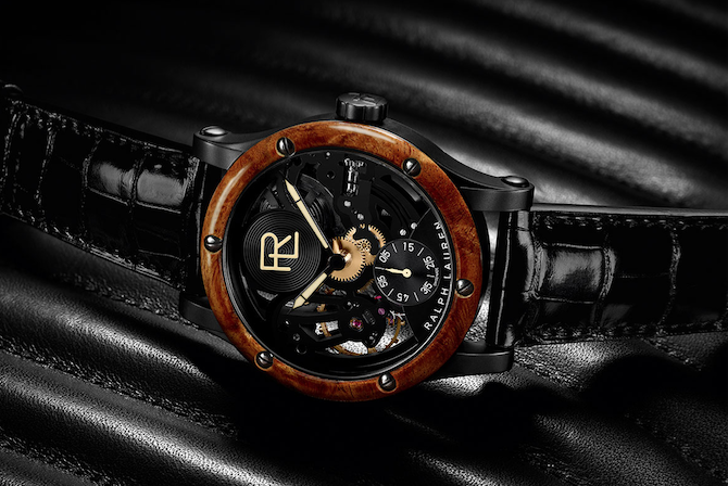 Ralph Lauren Automotive 45mm Skeleton steel