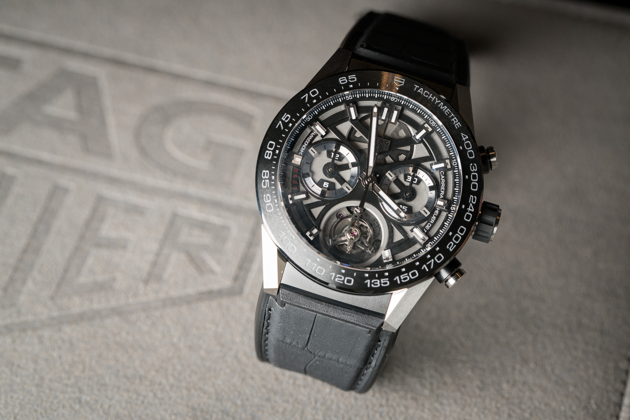TAG Heuer Carrera Caliber Heuer 02T Tourbillon