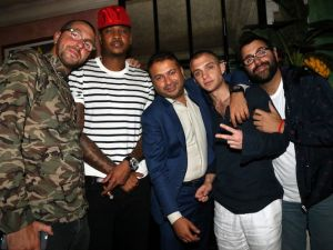 Haute Time Celebrates Carmelo Anthony's birthday At Socialista Hosted By Lala Anthony