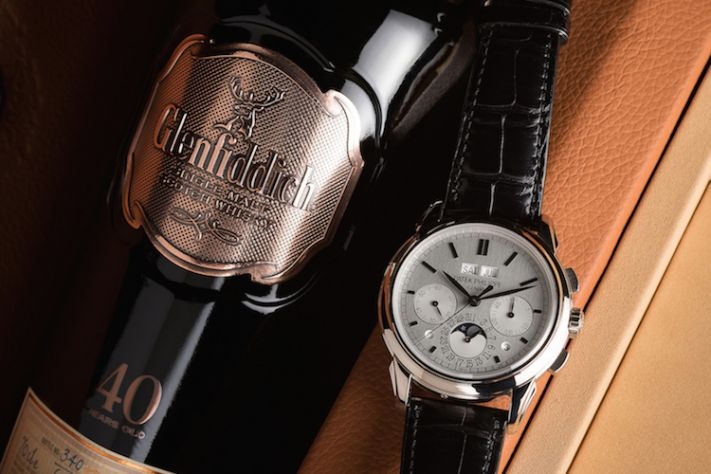 Watches And Whisky: Glenfiddich 40 + Patek Philippe 5270