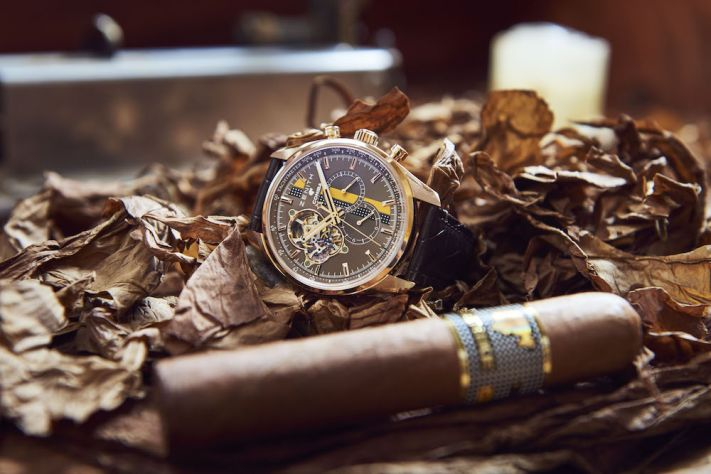 Zenith And Cohiba Celebrate The Cigar Maker's 50th Anniversary With Limited Edition El Primero Chronomaster 1969
