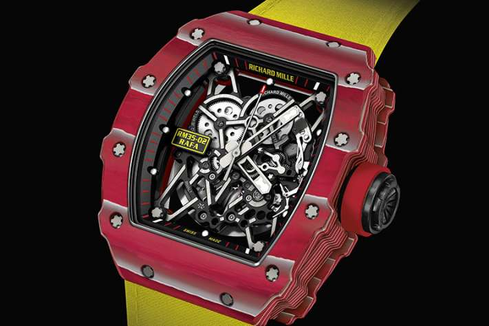 Richard Mille Presents The New RM 35-02 Rafael Nadal