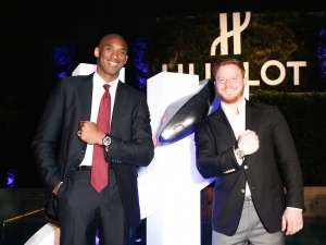 "Hublot Launches Classic Fusion Kobe Bryant ""Herovillain"" Timepiece In Beverly Hills"