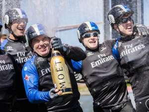 Epic Emirates Team New Zealand Wins Louis Vuitton America's Cup World Series In New York