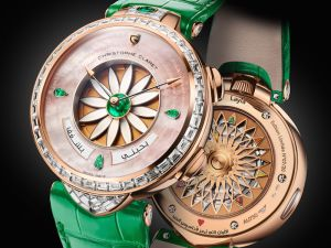 Christophe Claret and Layla:  A Love Story from the Night of Time, With a Variation on Margot, the Brand's First Complication for Women
