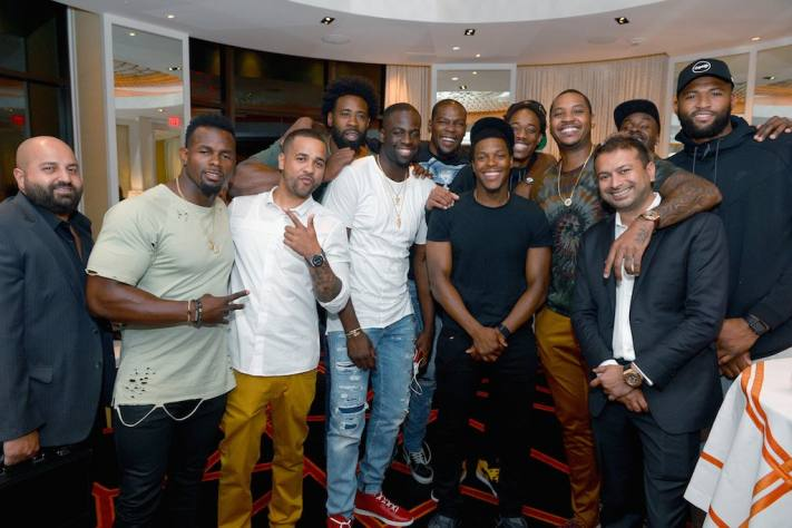 Haute Time and Carmelo Anthony Hosts Haute Dinner with Hublot and Tequila Avión at Wynn Las Vegas