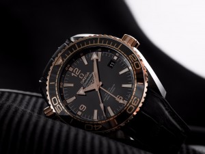 """Presenting The Omega Seamaster Planet Ocean """"Deep Black"""" Collection"""