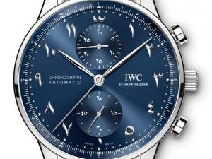 IWC Schaffhausen Unveils the Portugieser Dubai Edition