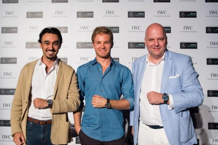 Formula 1 Driver Nico Rosberg Talks Sports with IWC Schaffhausen