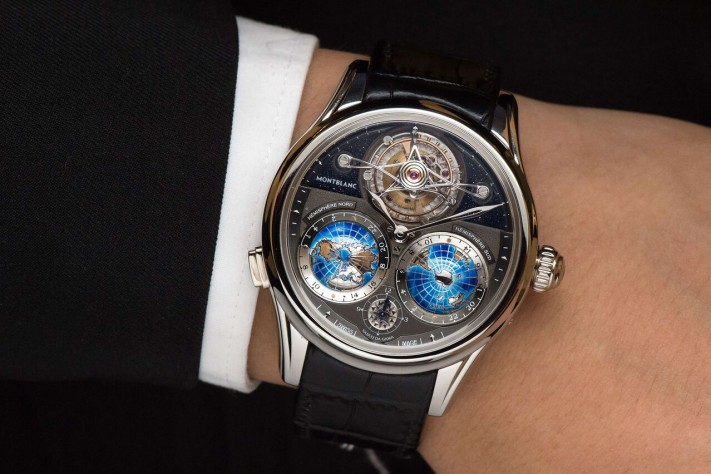 Montblanc Tourbillon Cylindrique NightSky Geospheres Limited Edition