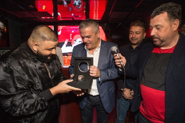 Hublot and Haute Living Host Birthday Bash for DJ Khaled