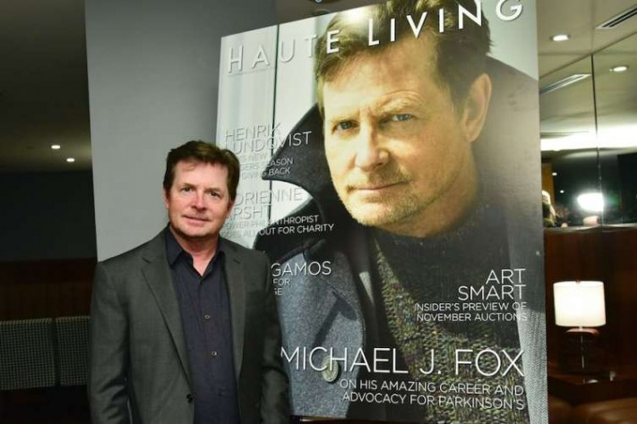 Haute Living's Michael J. Fox Cover Launch with Hublot and JetSmarter