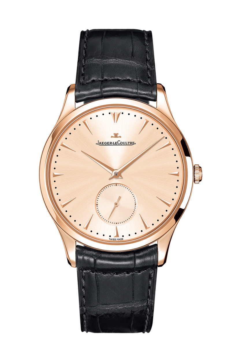 Jaeger-LeCoultre Master Grande Ultra Thin Small Second in pink gold