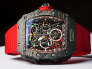 Richard Mille Launches a 38 gram Tourbillon Split-Second Chronograph