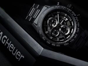 TAG Heuer Debuts Matt Black Ceramic Carrera HEUER-01