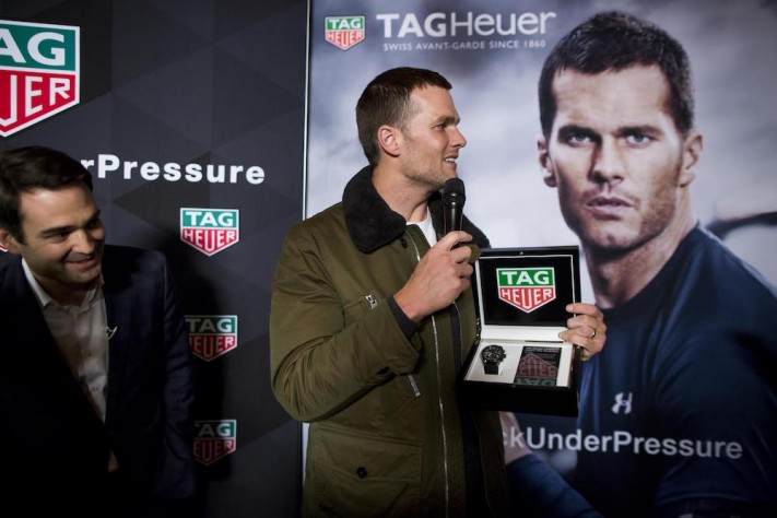 Tom Brady Celebrates Historic Super Bowl Win With TAG-Heuer