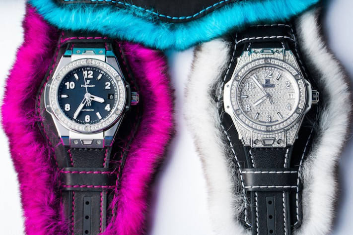 Meet the Hublot Big Bang One-Click Cuddly Cuff Collection