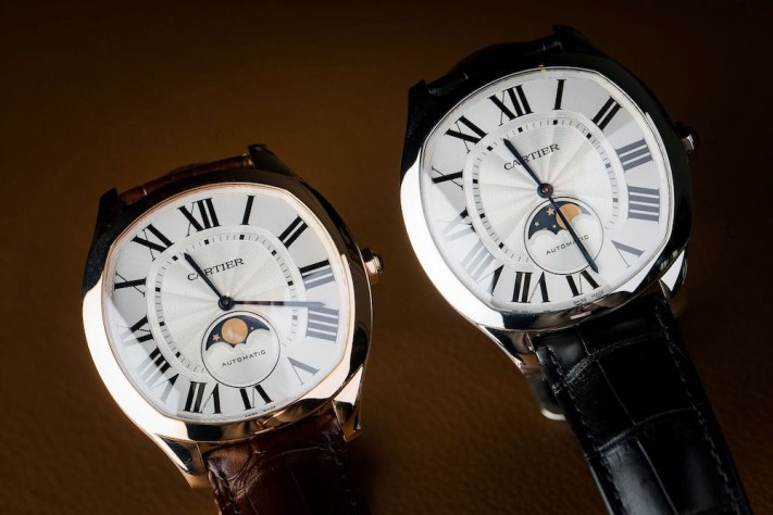 The Classic Elegance of the New Drive de Cartier Moon Phases