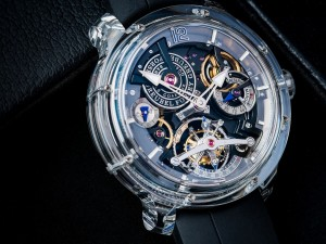 Up Close and Personal with the Greubel Forsey Double Tourbillon 30° Technique Sapphire